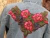 Как украсить старую джинсовую куртку