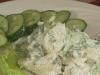 Картофельный салат с хреном