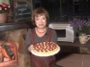 Манный торт с малиной