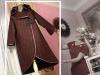 Кардиган-пальто из плотного трикотажа