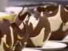 Десерт в шоколадных вазочках от домохозяйки