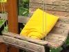 Кресло-гамак из старых досок