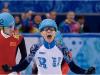 Российский шорт-трекист Виктор Ан выиграл золотую медаль на дистанции 500 м