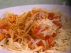 Паста с томатным соусом от Анастасии Заворотнюк