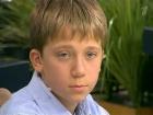 13-летний Сергей ищет порядочную голубоглазую блондинку.