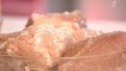 Качественная свиная шейка должна быть однородного цвета с прослойками сала