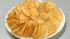 Зеленые, черные края на картофельных чипсах – признак некачественного продукта