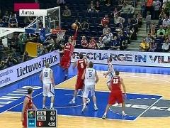 Сборная России по баскетболу вышла в четвертьфинал чемпионата Европы