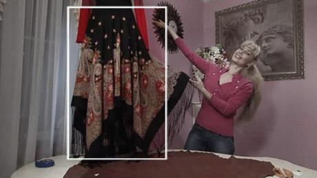 Как сшить длинную юбку из фатина своими