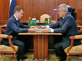 Дмитрий Медведев встретился с президентом 'ЛУКОЙЛа' Вагитом Алекперовым