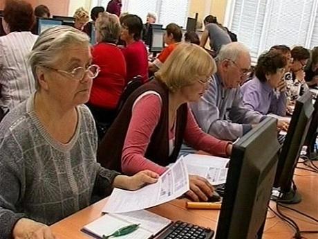 знакомство с компьютером для пенсионеров