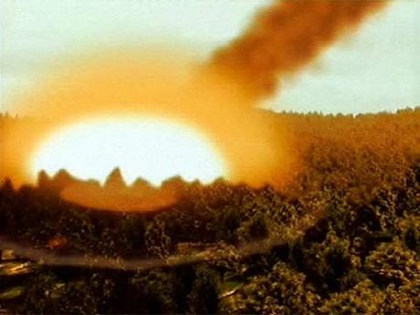 Ящеров уничтожил метеоритный дождь
