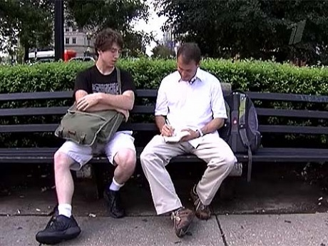 Подарить 10 долларов незнакомцу