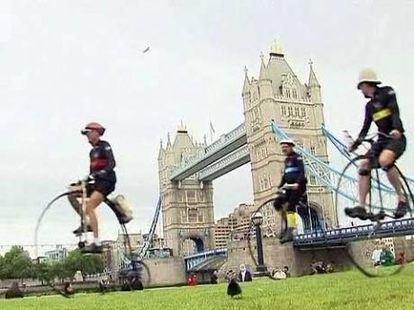 Ретро-ралли на велосипедах устроили любители активного образа жизни из Европы PR20110610161013