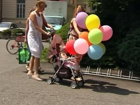 трехлетнюю русскую девочку выписали из больницы в Италии