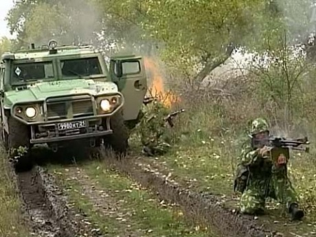 Военный спецназ отмечает День Рождения