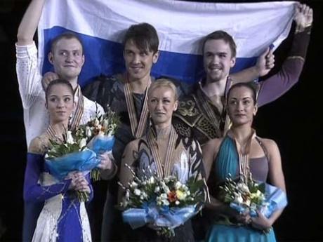 Триумф российских спортивных пар на Чемпионате Европы по фигурному катанию