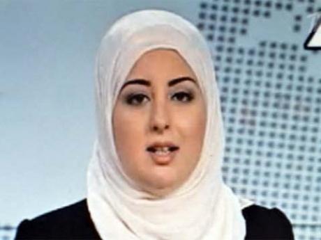 В хиджабе
