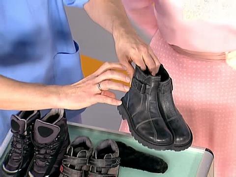 Как растянуть зимнюю кожаную обувь