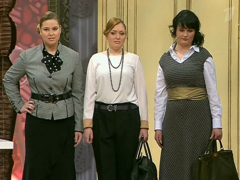офисная одежда для женщин с формами
