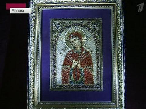 Уникальная выставка открылась в храме Христа Спасителя 16 мар - Первый канал.  Там можно увидеть вышитые...