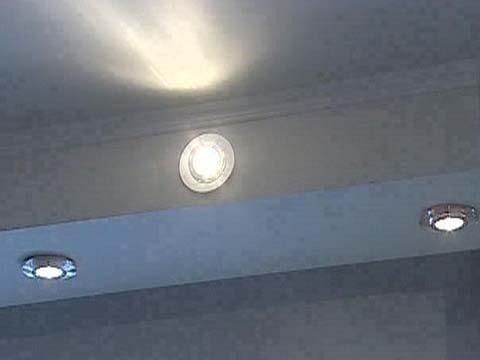 Светильник в гипсокартон