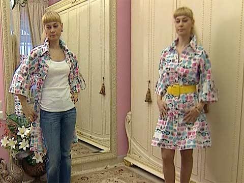 Платья с рубашки своими руками
