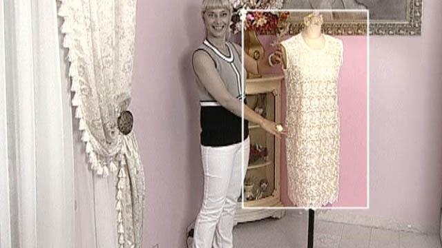 Сшить платье кружевное