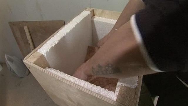 Как сделать на балконе ящик для хранения картофеля