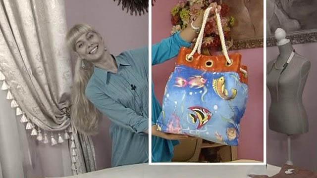 Пляжная сумка своими руками мк 78