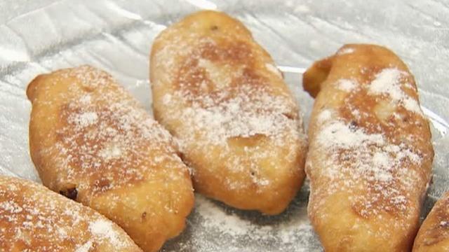 Творожные пирожки с яблоками