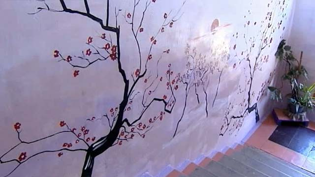 Стены в подъезде своими руками фото 639