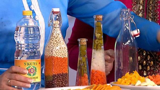 Как сделать масло в бутылке