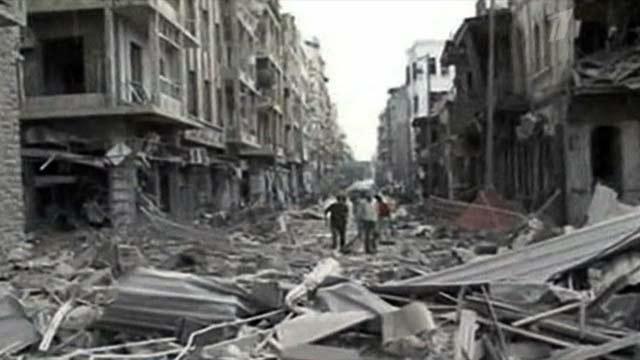 Серия терактов в городе Алеппо, Сирия