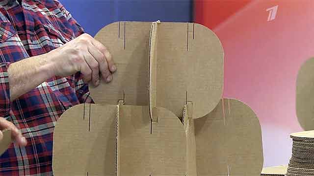 Ширма своими руками из картона