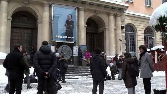 Церемония вручения Нобелевской премии 2012