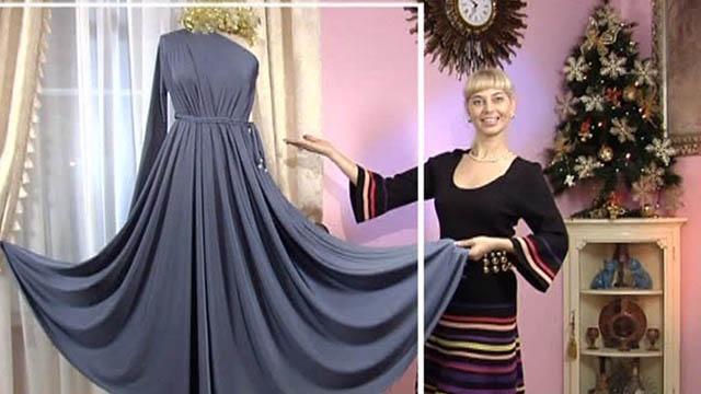Сшить новогоднее платье своими руками мастер класс