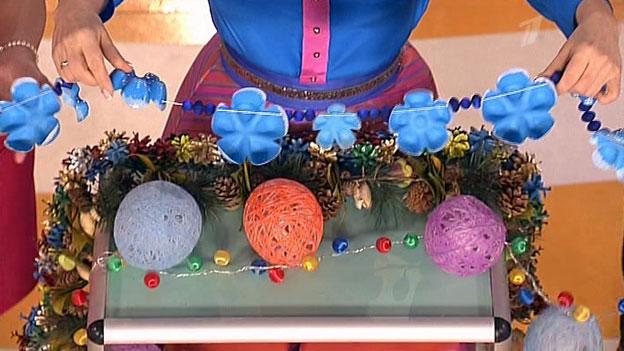 Новогодние игрушки своими руками гирлянды