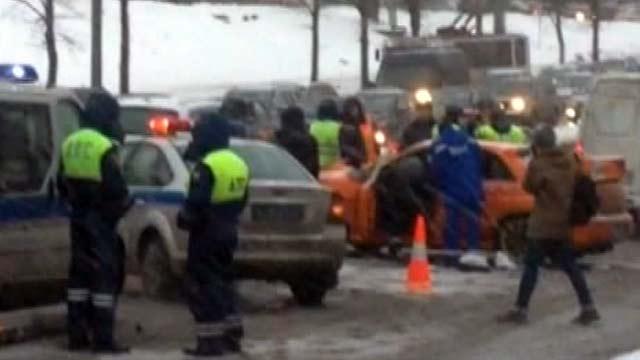 В Москве выясняют обстоятельства чудовищного происшествия на дороге