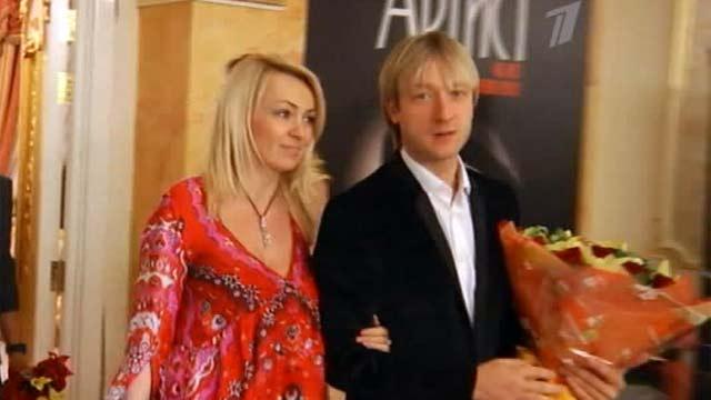 Яна Рудковская, её дети и Виктор Батурин