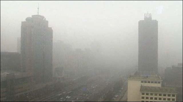 В Пекине значительно упало количество туристов