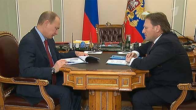 Владимир Путин поручит правительству вернуться к вопросу о страховых взносах для предпринимателей - Первый канал