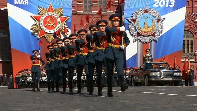 Парад в честь 68-й годовщины Великой Победы