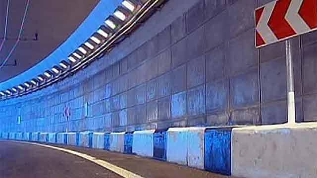 В Москве открыли сразу два тоннеля на одном из самых загруженных участков Каширского шоссе.
