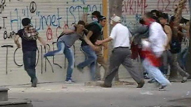 2013 Турция. Экологические протесты переросли в масштабные беспорядки... - Турция 2013