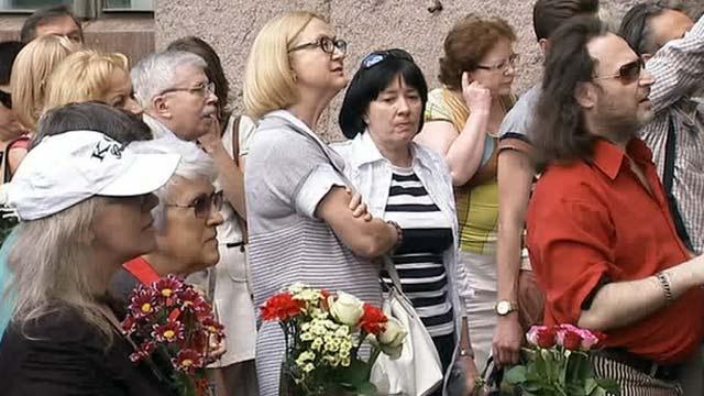 В Москве открыли мемориальную доску в честь Андрея Вознесенского