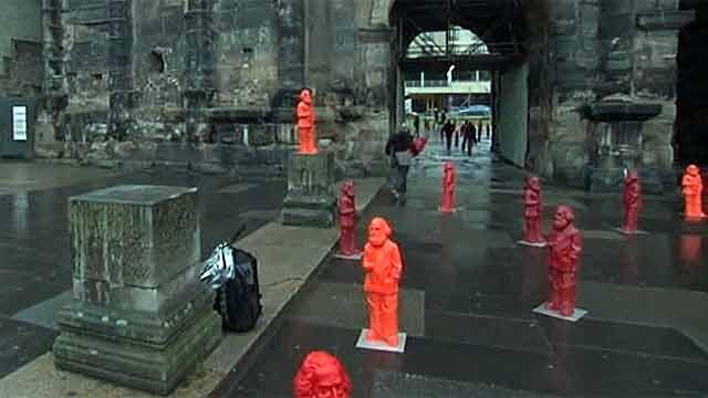 В немецком городе Трир пропадают фигурки Карла Маркса