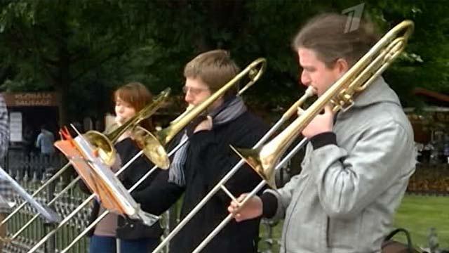 Центральные улицы Праги оказались закрытыми для музыкантов