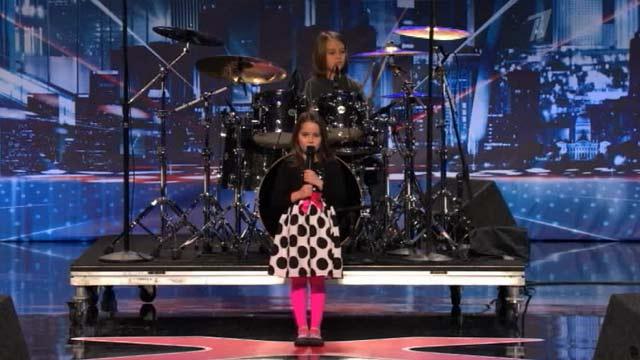 Девочка на американском шоу талантов шокировала песней про зомби