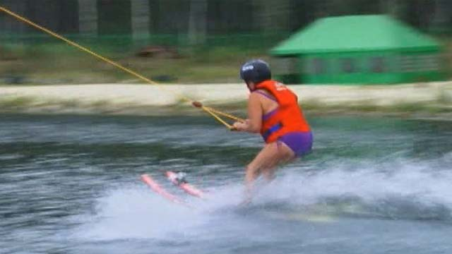 Championship of wakeboarding in Russia
